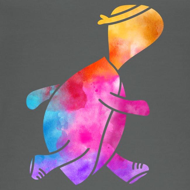 Watercolor Daphne