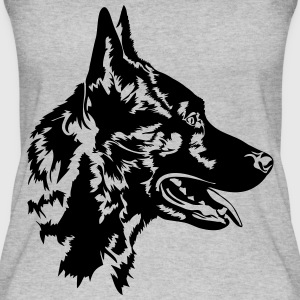 Dutch Shepherd - Dutch Shepherd Dog - Ekologisk tanktopp dam