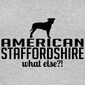 AMERICAN STAFFORDSHIRE what else - Frauen Bio Tank Top