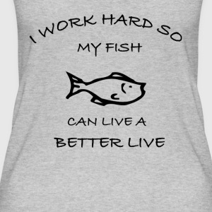 Fish - Frauen Bio Tank Top