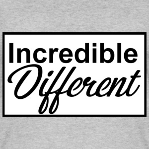 icredibledifferent_logo - Vrouwen bio tank top