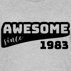 Awesome since 1983 / Birthday-Shirt - Women's Organic Tank Top