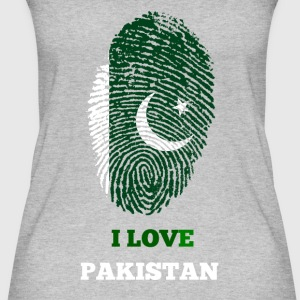 I LOVE PAKISTAN - Frauen Bio Tank Top