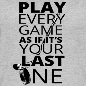 Eishockey: Play every game as if it´s your last - Frauen Bio Tank Top