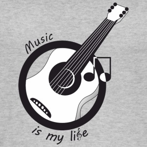 Music is my life - Women's Organic Tank Top