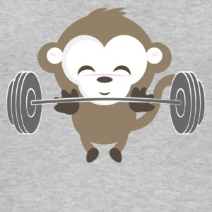 Fitness Monkey nyligt - Øko tank top til damer