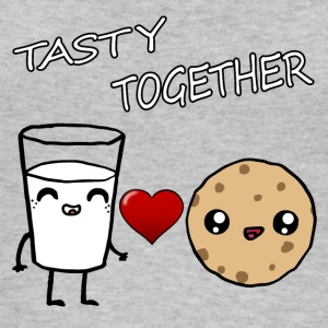 Latte e Cookie Tasty Insieme Kawaii - Top da donna ecologico