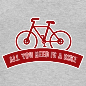 Bicycle: All you need is a bike - Women's Organic Tank Top