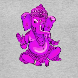 Ganesha pink yoga hindu india elephant god Namaste - Women's Organic Tank Top