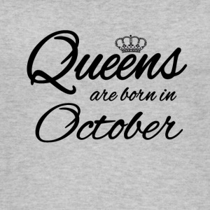 Queens Born October Princess Birthday Birthday - Women's Organic Tank Top
