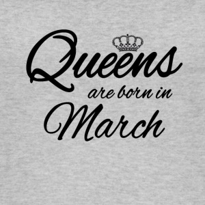 Queens Born March Princess Birthday Birthday - Women's Organic Tank Top