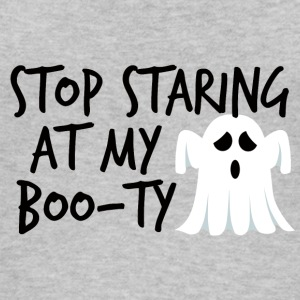 Halloween: Stop Staring At My Boo-Ty - Women's Organic Tank Top