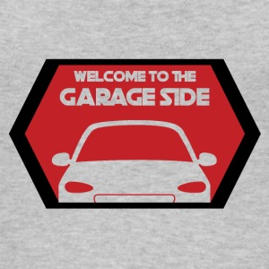 Mechanic: Welcome To The Garage Side - Women's Organic Tank Top