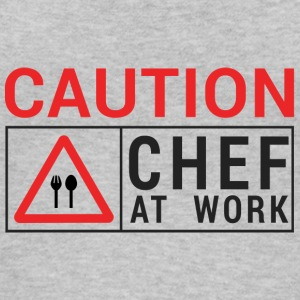 Koch / Chefkoch: Caution - Chef at work. - Frauen Bio Tank Top