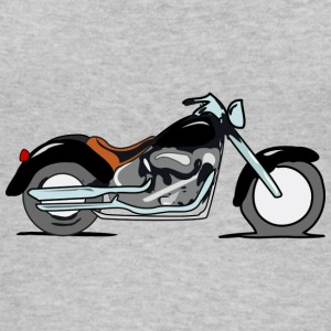 motorcycle chopper - Frauen Bio Tank Top