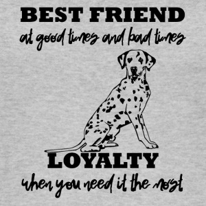 Koira / Dalmatian: Best Friend Good Times And - Naisten luomutoppi