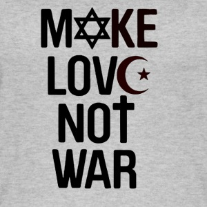 Make Love not War - Frauen Bio Tank Top
