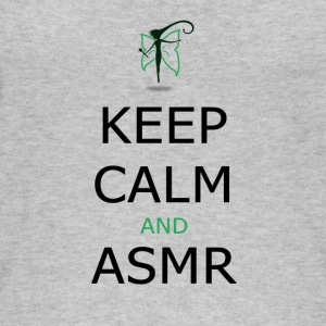 Keep Calm and ASMR - Øko-singlet for kvinner