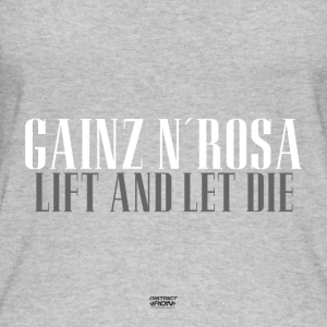 Gainz n'Rosa - Lift and let The Frauenpower Shirt - Women's Organic Tank Top