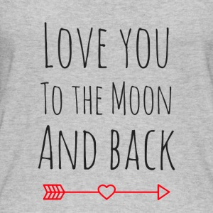 Love you to the moon - Frauen Bio Tank Top