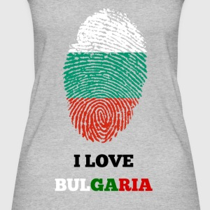 I LOVE BULGARIA - Frauen Bio Tank Top