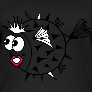 pufferfish - Top da donna ecologico