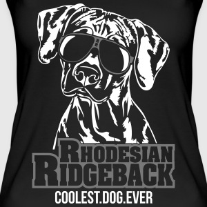 RHODESIAN RIDGEBACK coolest dog - Frauen Bio Tank Top