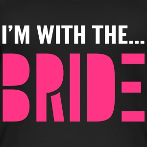 I'm with the Bride - Bridesmaid T-Shirt - Women's Organic Tank Top