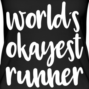 World's okayest runner - Women's Organic Tank Top