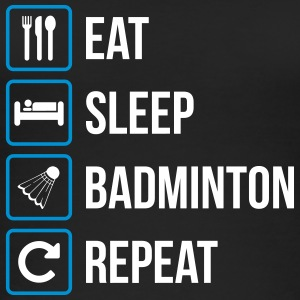 Eat Sleep Badminton Repeat - Frauen Bio Tank Top
