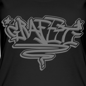 "Graffiti Tag ""Graffiti"" alle design - Øko-singlet for kvinner"