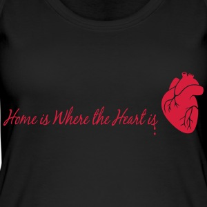 home is where the heart is - Women's Organic Tank Top