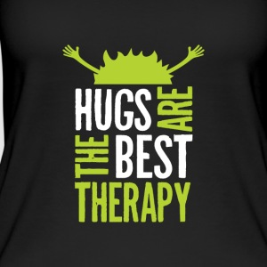 Hugs are the best therapy! Einfach umarmen! - Frauen Bio Tank Top