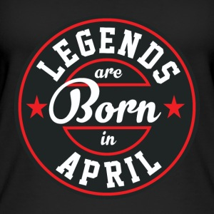 Legends April born birthday gift birth - Women's Organic Tank Top