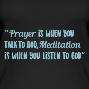 Prayer over meditation - Women's Organic Tank Top