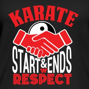 karate Respekt - Øko-singlet for kvinner