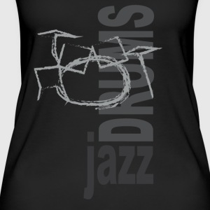 Jazz Drums - Vrouwen bio tank top