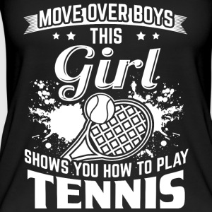 tennis MOVE OVER boys - Vrouwen bio tank top