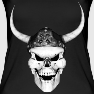 Viking Skull 2 - Øko tank top til damer
