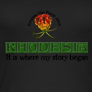 Rhodesia Story Begins Green - Women's Organic Tank Top
