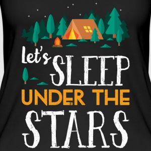 Sleep under the stars - camping - Women's Organic Tank Top