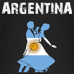 Nation-Design Argentina Tango - Frauen Bio Tank Top