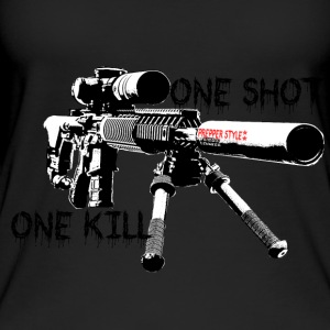 sniper ONe KILL ONe Shot - Frauen Bio Tank Top