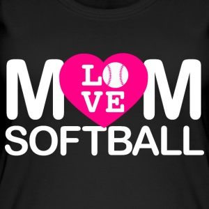 Mamma amore softball - Top da donna ecologico