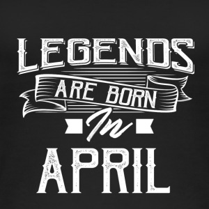 Legends are born in April - Women's Organic Tank Top
