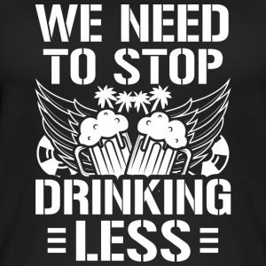 Mallorca Party WE NEED TO STOP DRINKING LESS - Women's Organic Tank Top