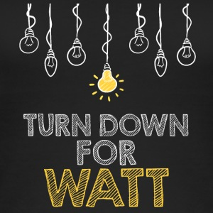 Electricians: Turn down for watt - Women's Organic Tank Top