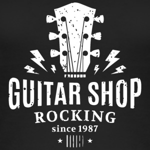 Guitar shop - Women's Organic Tank Top