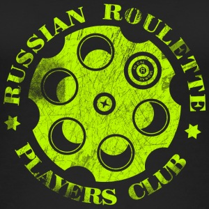 Russische Roulette Players Club Neon Vintage - Vrouwen bio tank top