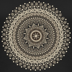 Mandala in beige-brown tones - Women's Organic Tank Top